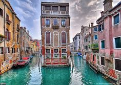 Venice!! I totally want to buy a floating house!.... One day :)