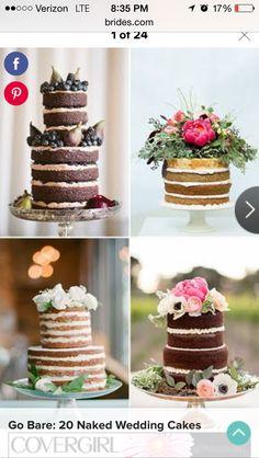 Unfinished cakes