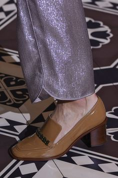 And This Heeled Pair Made Its Way Down the Tory Burch Runway