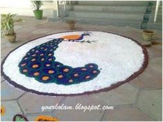 Best Peacock Rangoli Designs - Our Top 10