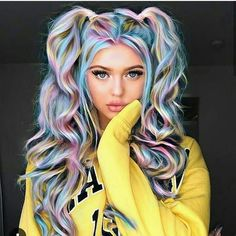 Ready to meet Tie-Dye hair? - Ready to meet Tie-Dye hair? Ready to meet Tie-Dye hair? Get colorful hair with Tie-Dye hairstyle! We will not miss colored hair simply because winter has arrived! Among the colored hair … Colored hair Cute Hair Colors, Pretty Hair Color, Beautiful Hair Color, Hair Dye Colors, Tie Dye Hair, Dyed Hair, Unicorn Hair Color, Pastel Hair, Pastel Rainbow Hair