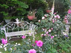 The Cottage Garden Photograph by Helen Penwill