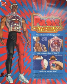 Pulsar: The Ultimate Man of Adventure - Vintage Doll/Action-Figure #1970s #collectibles #nostalgia