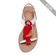 kate spade new york charlie parrot t-strap sandal