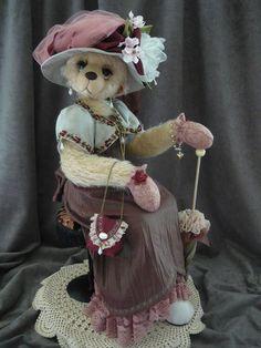 Lady Sarah Elegant Lady Bear by Monica Spicer