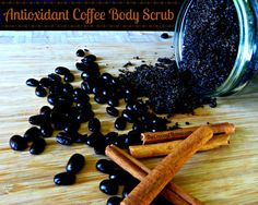 Antioxidant Coffee Body Scrub with Coconut Oil