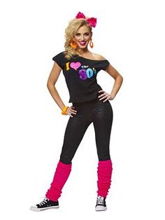 Pictures Of 80s Fashion For Women s Halloween Costume for