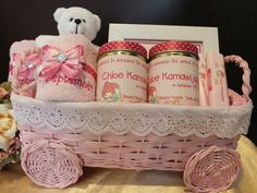 Rattan -  baby hamper - Goodie bags - goody bags for kids party - birthday goodie bags - birthday gift ideas - party favors