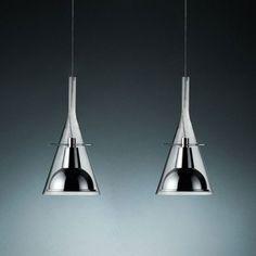 Flute 2 Suspension Light by Fontana Arte #modern #suspensionlight #lighting #interiordesign