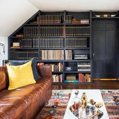 Before & After: An Esquire Magazine Library | Design*Sponge
