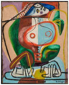 Ecomanta: Le Corbusier: Architect, Designer, Artist and the importance of Painting. Salvador Dali, Cubism Art, Art Walk, Art Plastique, Figurative Art, Wassily Kandinsky, Painting & Drawing, Designer, Oil On Canvas