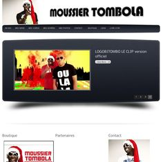 Moussier Tombola  Creation site web Lobo-GraphiK  (1er version du site) Creation Site, Site Web, Clip