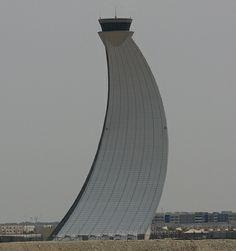 Abu Dhabi Airport Control Tower