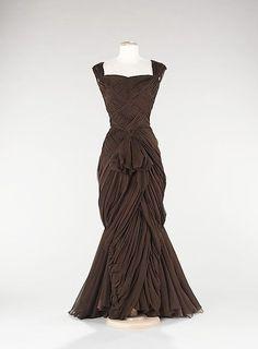 vintage gown / Jean Dessès (French)
