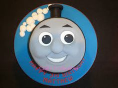 thomas face cake - Google Search
