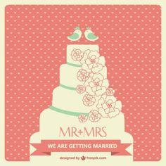 Wedding cake vector art Wedding Cake Roses, Wedding Cake Rustic, Beautiful Wedding Cakes, Wedding Sweets, Wedding Cards, Wedding Invitations, Wedding Cake Illustrations, Wedding Stills, Wedding Cake Decorations