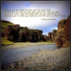 """Travel Quote. Find out more at """"Down the Wrabbit Hole - The Travel Bucket List"""". Click the image for the blog post."""