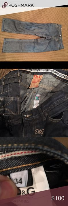 Men's Dolce and Gabbana jeans 34 In excellent shape Dolce & Gabbana Jeans Straight