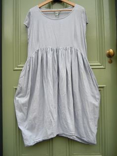 Cocon Commerz Privatsachen Dove Grey Cute Tulip Shape Tunic/Dress Lagenlook | eBay