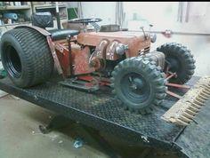 pics of rat rod trucks Small Tractors, Compact Tractors, Dually Trucks, Chevy Trucks, Truck Drivers, Diesel Trucks, Pickup Trucks, Mad Max, Cool Trucks