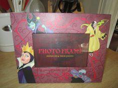 Disney Villian Photo Frame