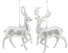 Silver Glitter Reindeer with Wreath Tree Decoration #ukchristmasworld #barnsley #christmas #decoration #festive #hanging #christmastree #display http://www.ukchristmasworld.com/Shop/Christmas-Tree-Decorations/Christmas-Tree-Decorations/5139-Silver-Glitter-Reindeer-with-Wreath-Tree-Decoration.html