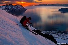 A great shot from Powder Magazine!  Norway is on our bucket list for places we'd like to ski!