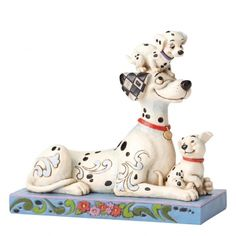 Puppy Love (Pongo with Penny & Rolly 55th Anniversary Piece) : Enesco