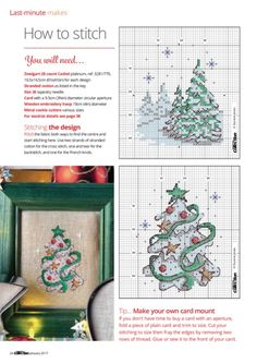 ru / Фото - Cross Stitch Collection 270 - tymannost / Last-minute makes Cross Stitch Christmas Ornaments, Xmas Cross Stitch, Cross Stitch Cards, Christmas Embroidery, Christmas Cross, Cross Stitching, Cross Stitch Embroidery, Cross Stitch Designs, Cross Stitch Patterns