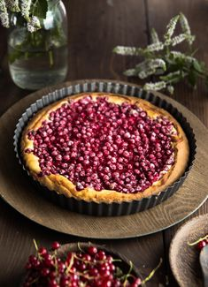 Ríbezľový koláč s ricottou - The Story of a Cake Ricotta Cake, Cake Toppings, Acai Bowl, Cheesecake, Breakfast, Desserts, Red Currants, Food, Tarts