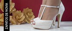 Zapatos de novia marca Ángel Alarcón a la venta en http://www.2feet-online.com Tienda online de zapatos de marca Made in Spain.