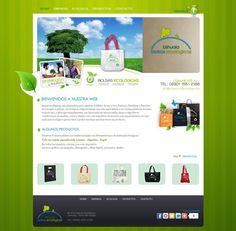 Bolsas Ecologicas Ushuaia  Diseño y desarrollo web.  www.bolsasecologicasushuaia.com
