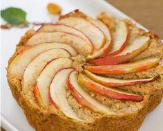 Muito saudável, muito prático e muito rápido! Faça este bolo de maçã sem farinha, é delicioso!