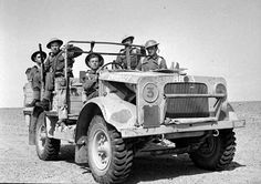 Southern Rhodesians with the King's Royal Rifle Corps in North Africa, 1942 - pin by Paolo Marzioli