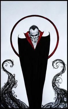 Very pensive #Dracula by #OlgaKhvatkova