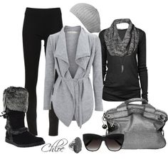 """""""Winter comfy,,,"""" by chloe-813 ❤ liked on Polyvore"""
