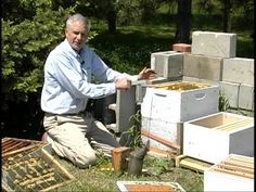 """A central Nebraska beekeeper shares his afternoon of """"Hive Splitting""""..creating new colonies and expanding bee populations through providing additional accom..."""