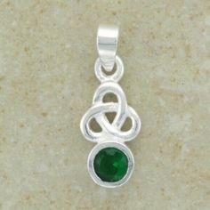 Cs116 Emerald Pendant Emerald Pendant, Unisex