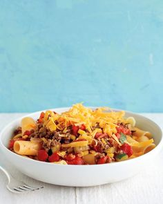 Stovetop Chili Mac