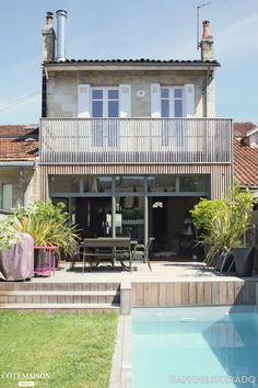 Maison à Bordeaux rénovée, Daphné Serrado - Côté Maison