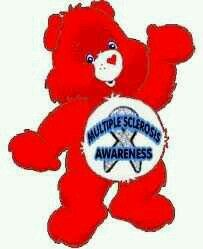 We Love the Care bares Agree To Disagree, Multiple Sclerosis Awareness, Girls Club, Chronic Illness, Smurfs, Ms, The Cure, Ribbons, Bears