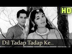 """Enjoy this Hit song """"Dil Tadap Tadap Ke"""" from the 1958 movie Madhumati starring Vyjayantimala. Hit Songs, News Songs, Music Songs, Music Albums, Music Videos, Old Hindi Movie Songs, Song Hindi, Top Trending Songs, Trending Videos"""