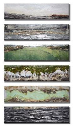 "Robin Luciano Beaty ""Refuge #7-12"" 42""x24"" Encaustic, mixed media and vintage found objects on birch. www.robinlucianobeaty.com"