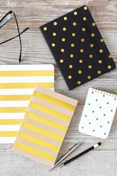 Go *~aBoVe & BeYoNd: Sugar Paper journals