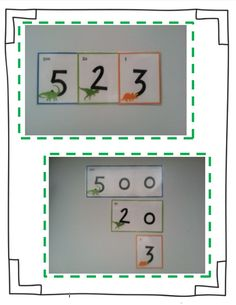These place value cards with a fun dinosaur theme are a great tool for helping your students better understand and explore place value from 1 to 999!   Simply place at a math center and let your students manipulate the numbers on their own or guide their work using worksheets and task cards.   To use, just print onto cardstock, laminate, and cut out! $
