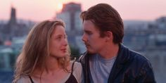 """cinyma: """" """"Before Sunrise, director: Richard Linklater, """" Before Sunrise Quotes, Before Sunrise Trilogy, Before Sunrise Movie, Before Trilogy, Julie Delpy, Celine, The Love Club, Movies And Series, Before Midnight"""