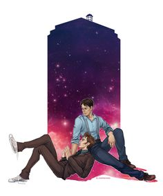 Doctor Who - The Doctor x Jack Harkness by ~maXKennedy on deviantART