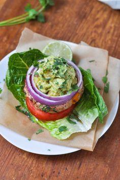 Cilantro Lime Turkey Burgers | www.themodernbuttery.com