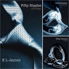 Fifty Shades Of Grey Trilogy! Great Set of Books! / Couldn't put the book down. Read all three