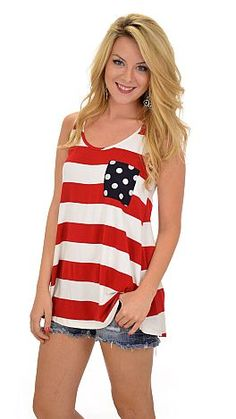 Stars, stripes, polka dots, and bows - OH MY! $32 at shopbluedoor.com